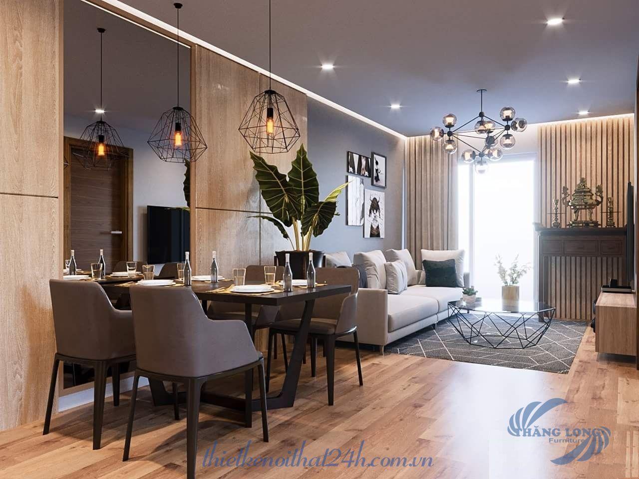 Thiết kế nội thất căn hộ Season Avenue