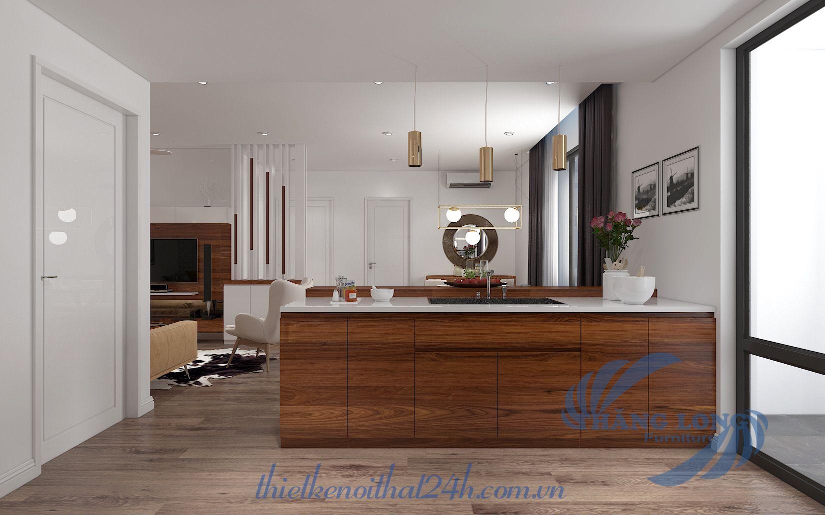 Thiết kế căn hộ Goldmark City - tòa R2