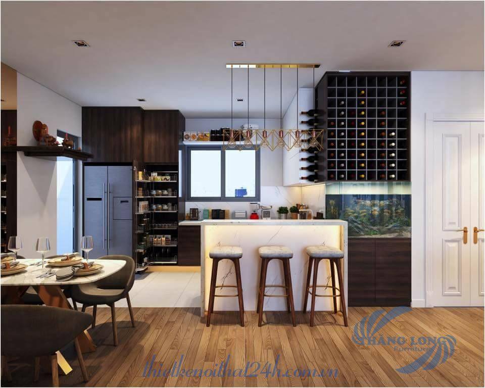 Thiết kế căn hộ chung cư Park Hill - Times city - Hà Nội