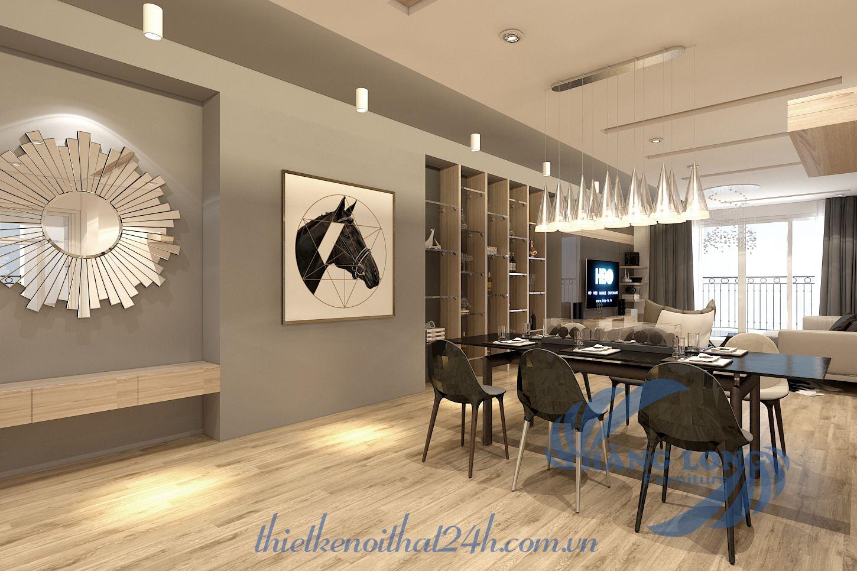 Thiết kế nội thất căn hộ Ecolife Tố Hữu, Hà Đông, HN