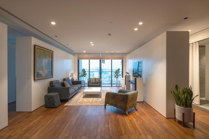 Căn hộ 150 m2 không tường ngăn ở Hà Nội