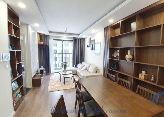 Thi công căn hộ 2 ngủ Imperia Sky Garden, 423 Minh Khai, HN