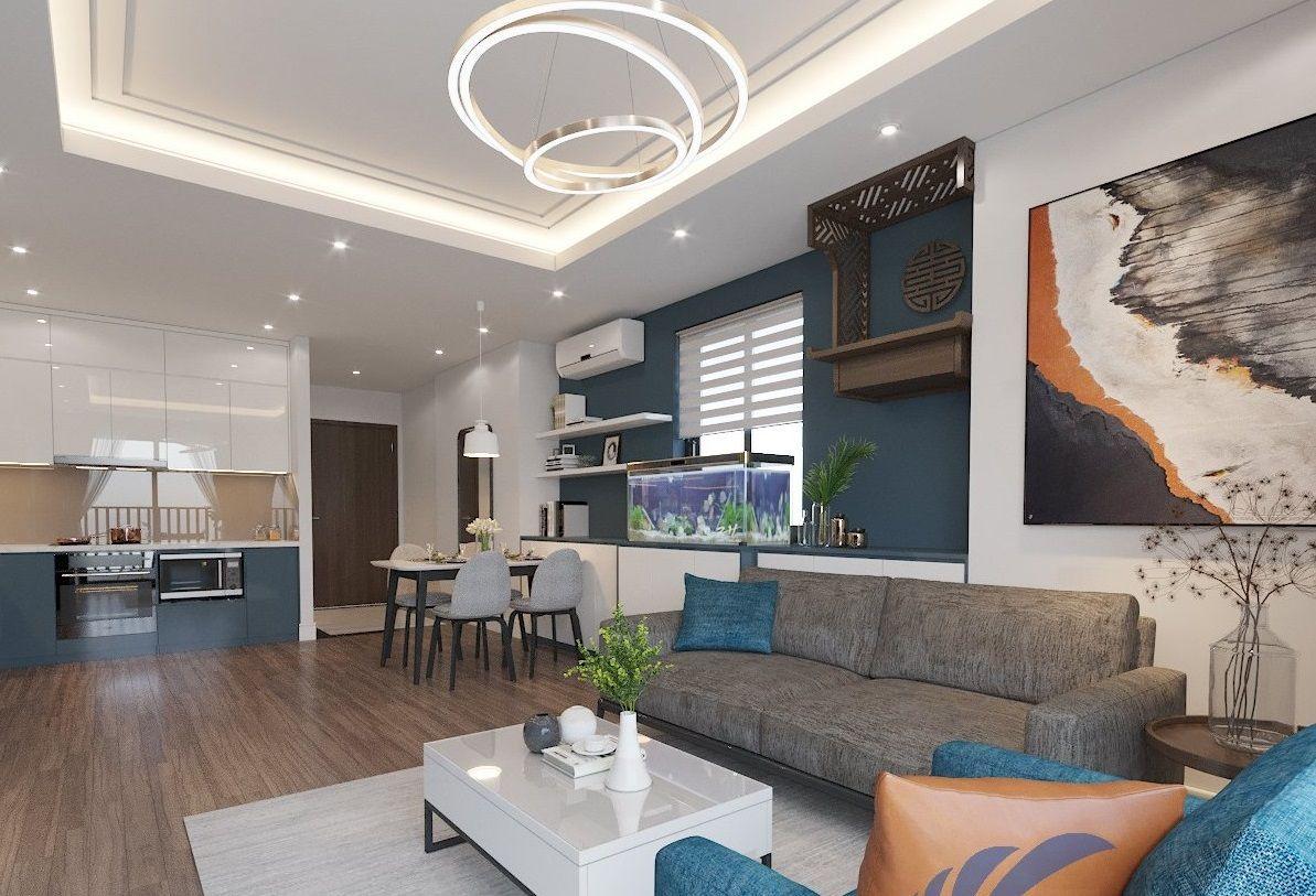 Thiết kế thi công căn hộ T3 Thăng Long Capital