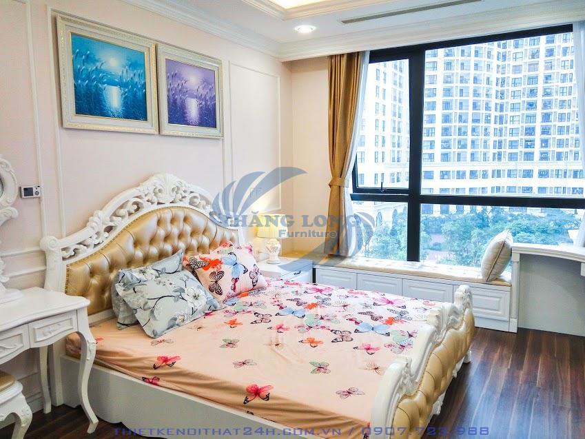 Thi công căn hộ 115m2 Royal City