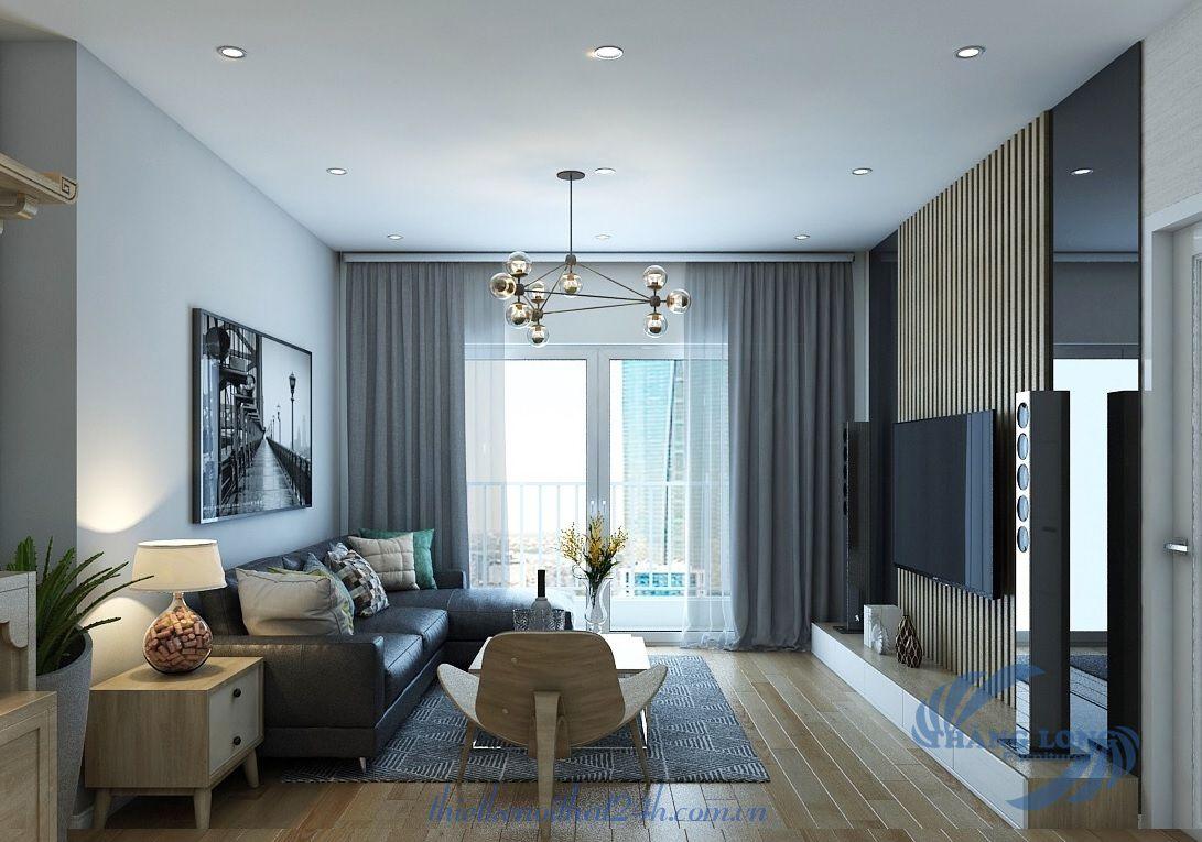 Thiết kế nội thất căn hộ Ecolife Capitol