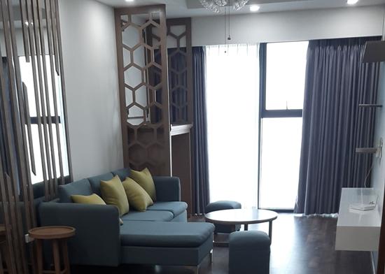 Thi công nội thất căn hộ 86m2 Goldmark City