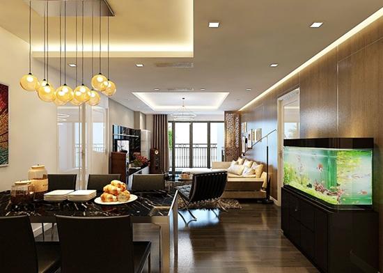 Thiết kế nội thất căn hộ Tân Hoàng Minh