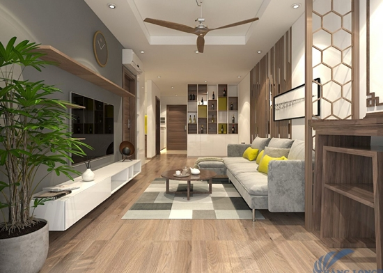 Thiết kế nội thất căn 78m2 Goldmark city
