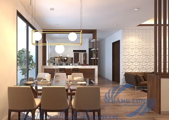 Thiết kế căn hộ Goldmark City - 103m2 - căn số 03