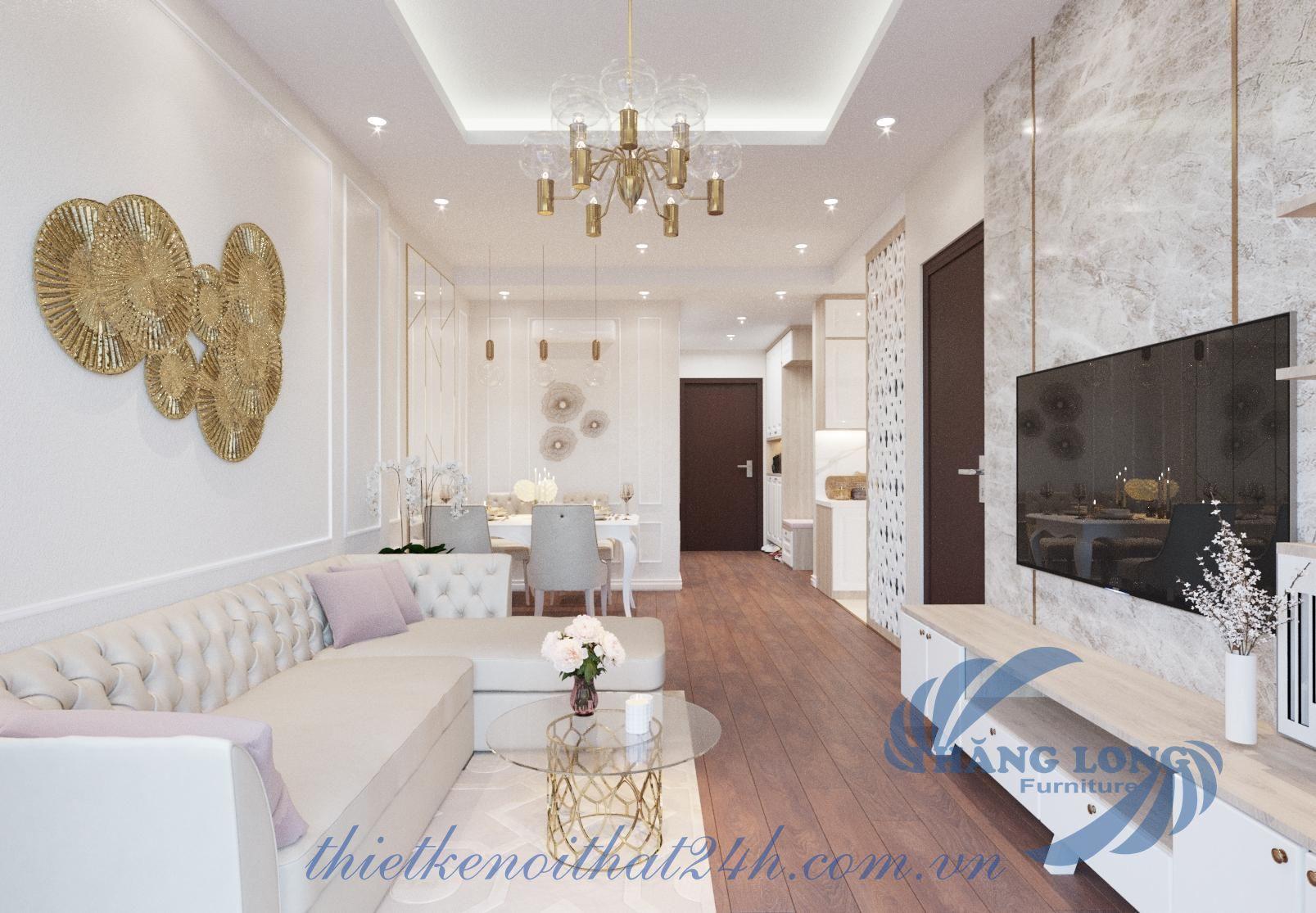 Thiết kế và thi công căn hộ 90 Nguyễn Tuân