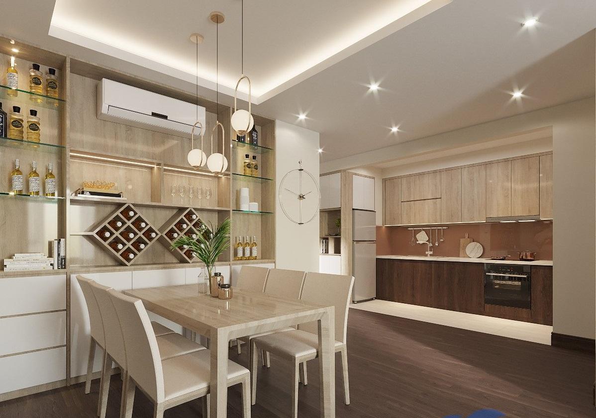 Thiết kế thi công căn hộ Beasky - Chu Văn An - Hà Nội