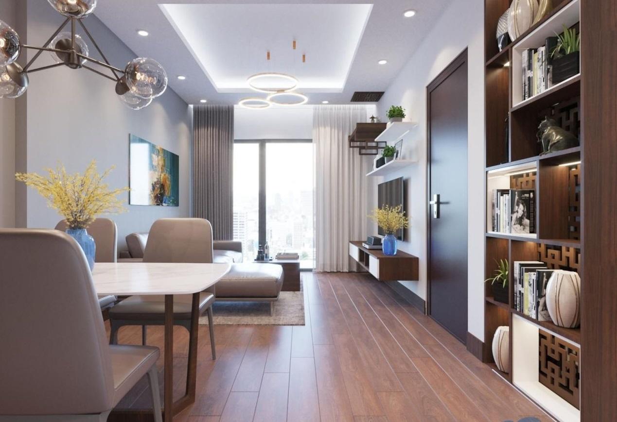 Thiết kế căn hộ 2 ngủ 90 Nguyễn Tuân, Thanh Xuân, Hà Nội