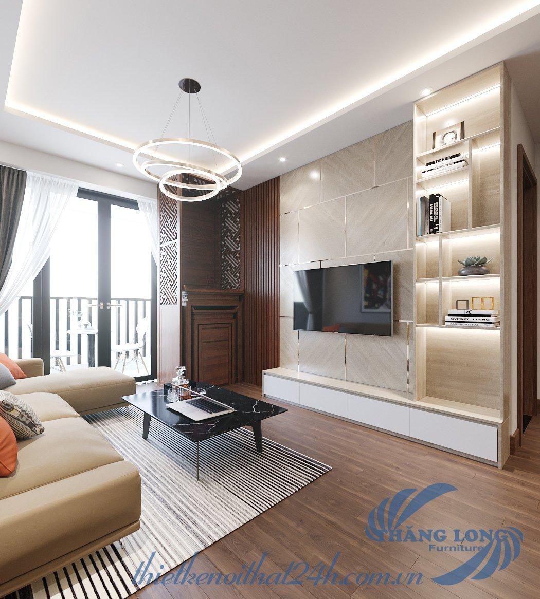 Thiết kế nội thất chung cư An Bình - 97 Trần Bình