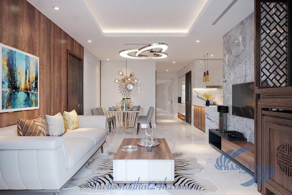 thiết kế nội thất chung cư phong cách hiện đại