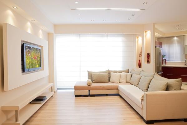20 thiết kế kệ tivi treo tường cực đẹp