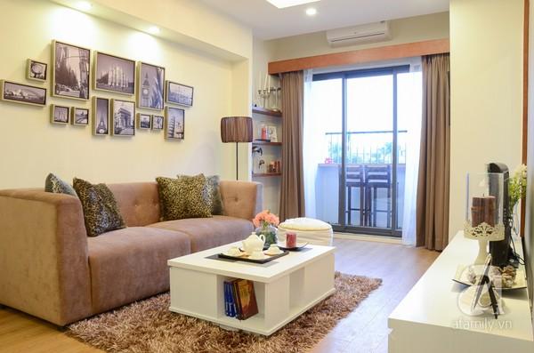 Căn hộ nhỏ 59m² có không gian đáng sống cho gia đình 4 người ở Hà Nội