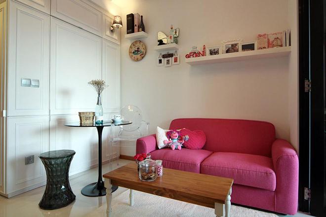 Căn hộ 33 m2 thanh lịch của nữ chủ nhân độc thân