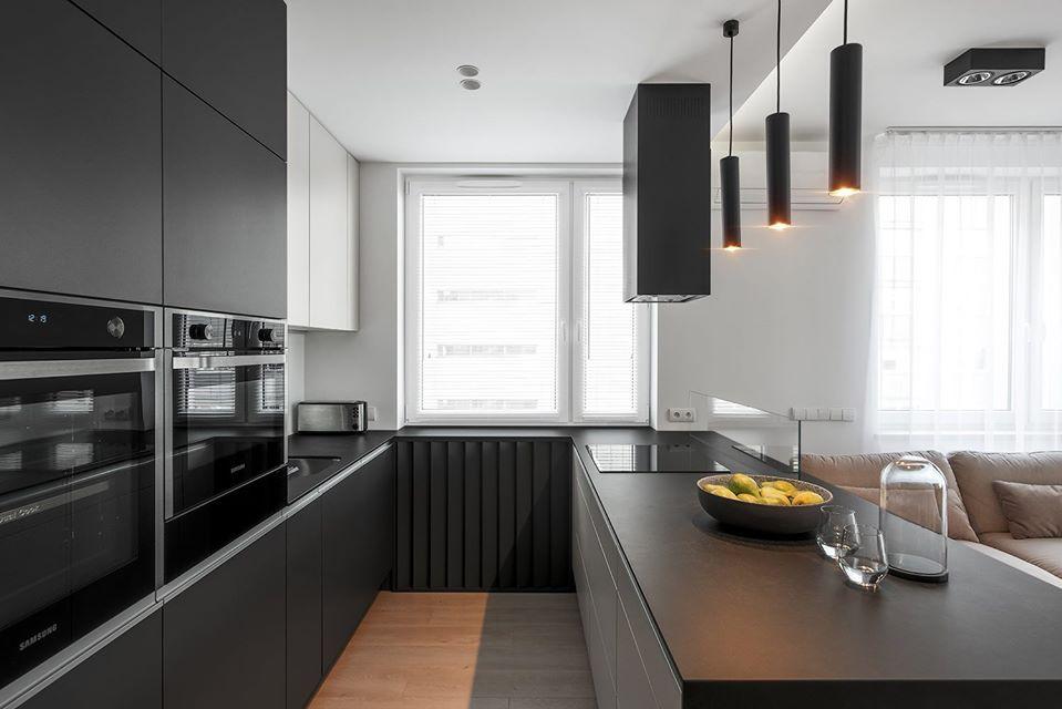 Phân chia nội thất cho căn bếp của bạn theo phong cách hiện đại.