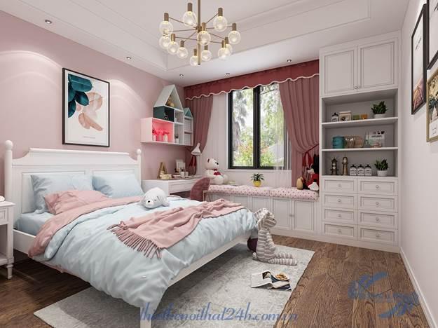 Thiết kế nội thất căn hộ 65m2 2 phòng ngủ - Tối ưu hóa công năng sử dụng